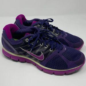 Nike lunar glide 2 plum purple running shoes 12